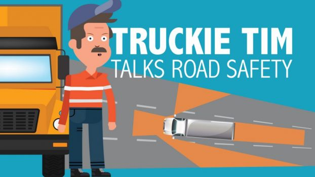 Truckie Tim talks road safety