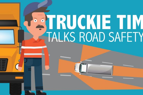 Truckie Tim talks road safety